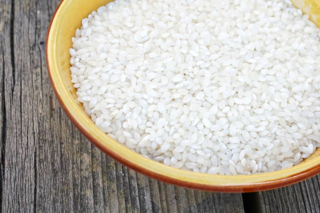 Paella rijst uitgelicht