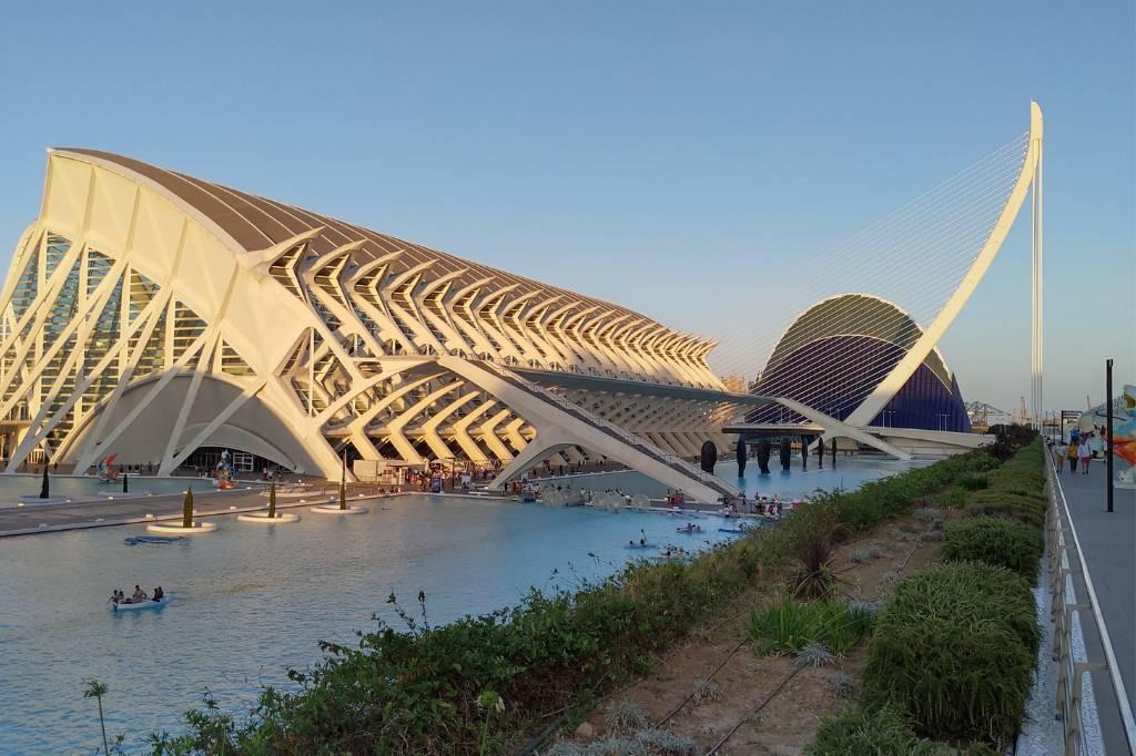 Valencia Stad der Kunsten en Wetenschappen