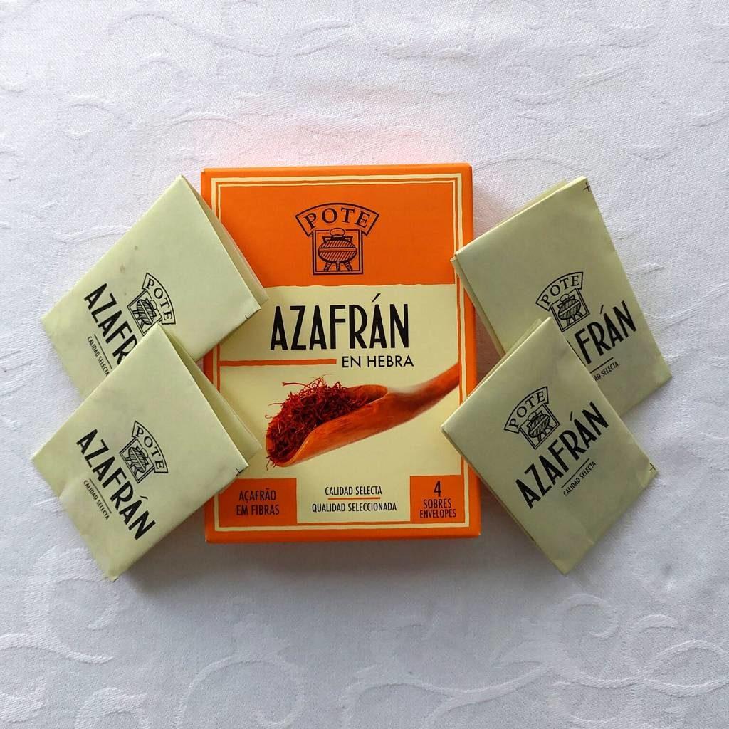 Saffraan draadjes voor paella