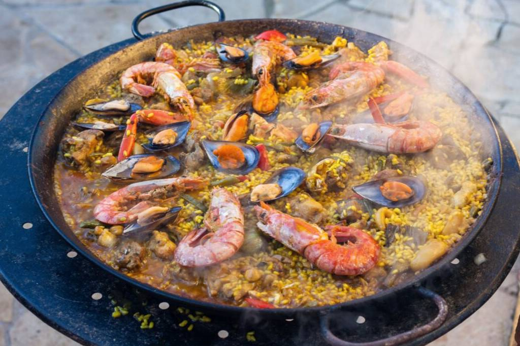 Paella Mixta recept