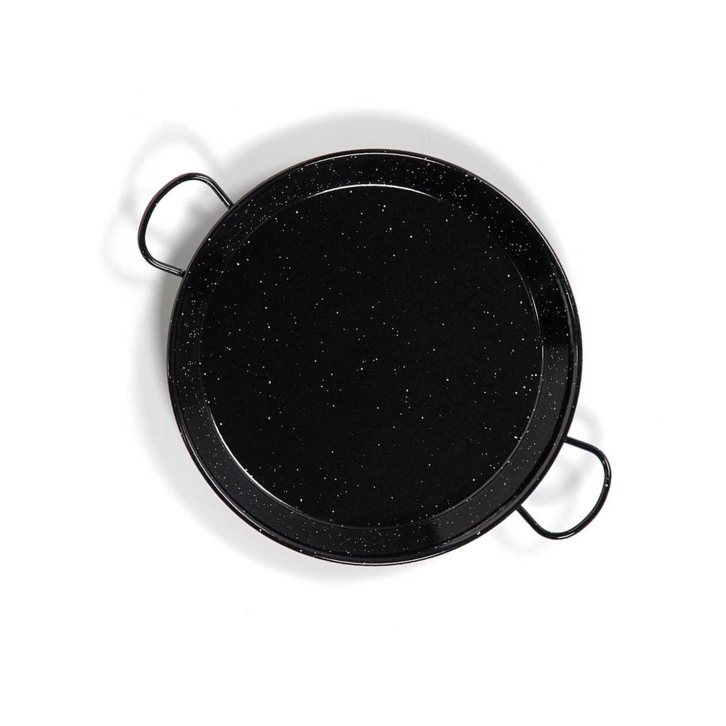 Paella Pan Emaille bovenkant