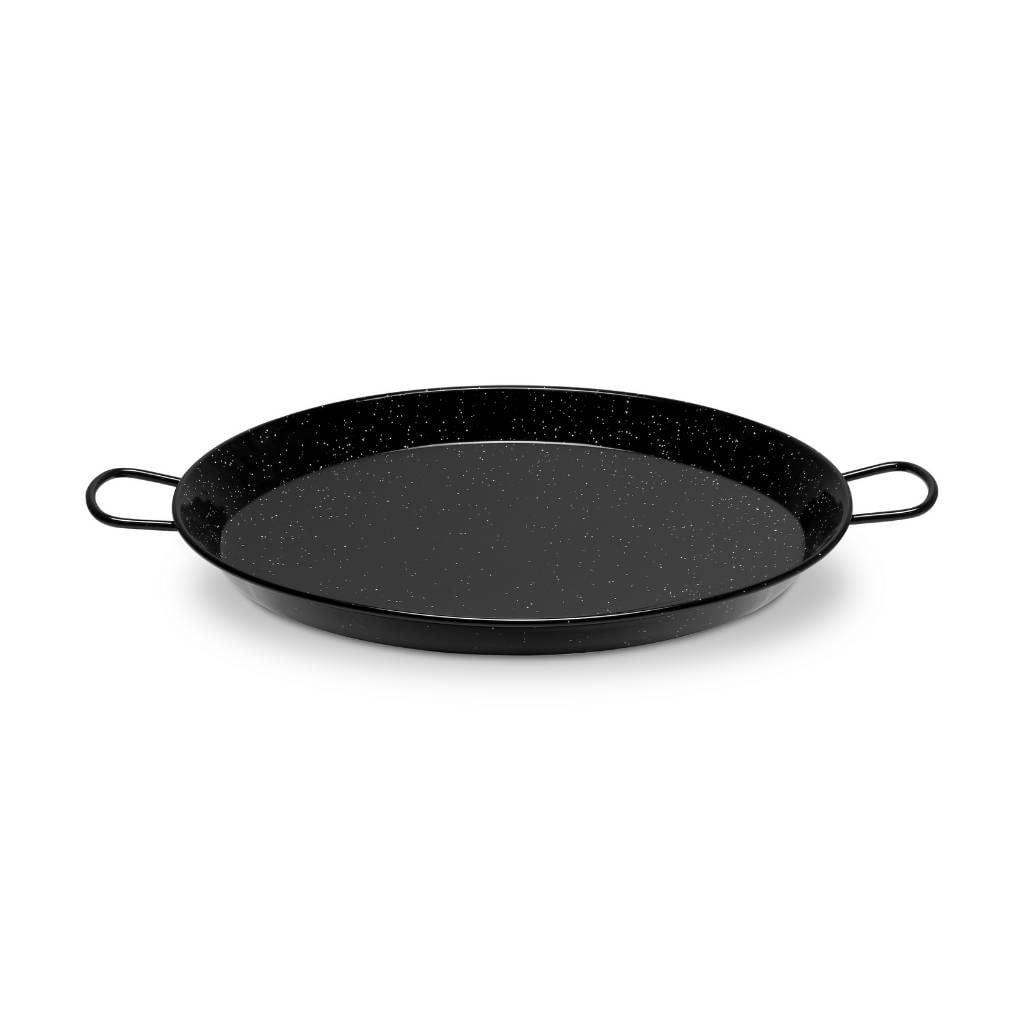 Paella Pan Emaille zijkant