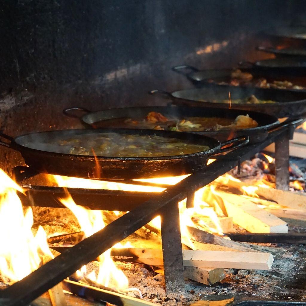 Paella Pan emaille restaurant