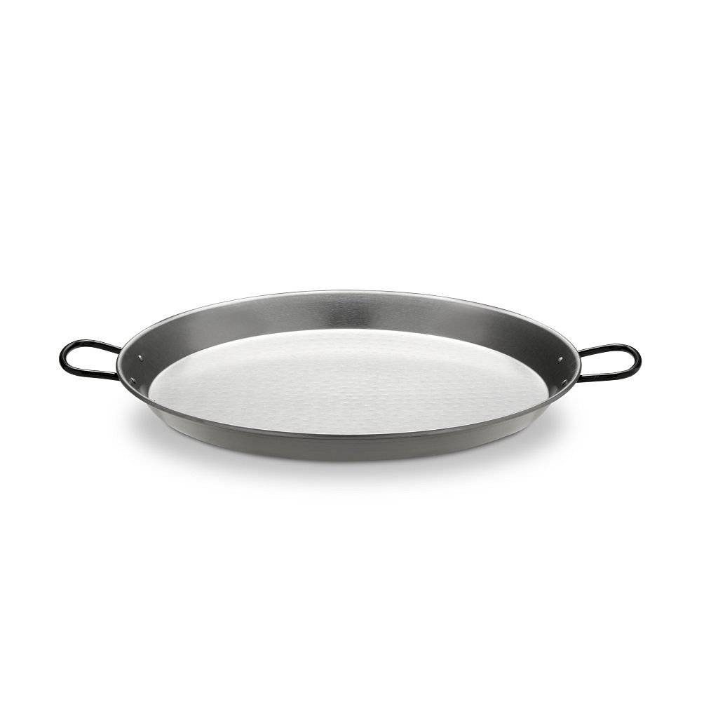 Paella Pan staal zijkant