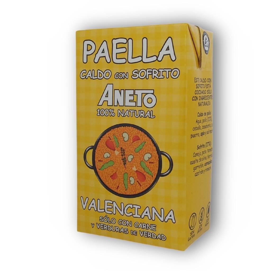 Paella Bouillon Valenciana