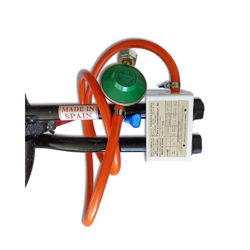 Paella Brander 40 cm incl. onderstel en gasset