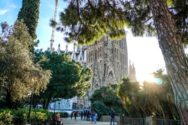 Paella eten in Barcelona
