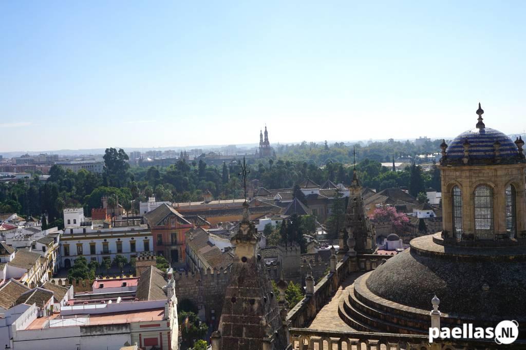 Paella eten in Sevilla