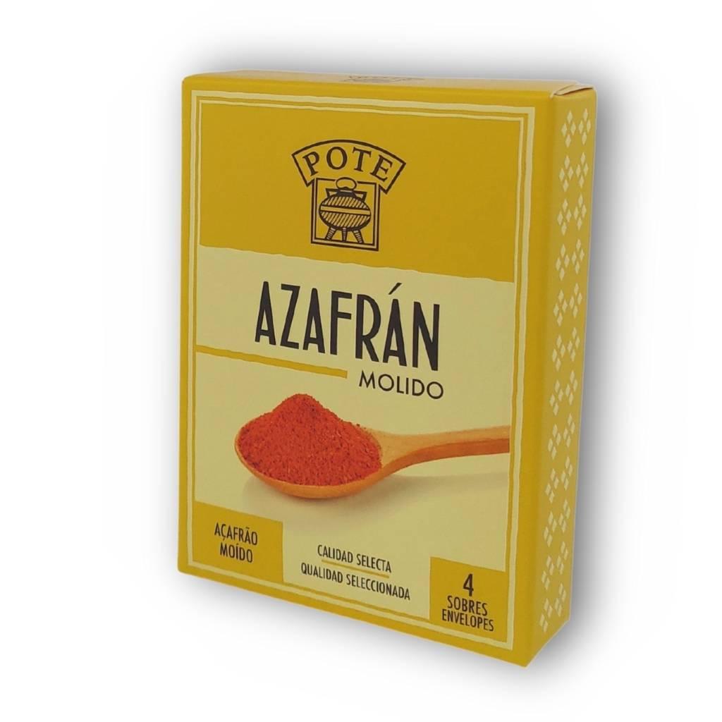 Saffraanpoeder voor paella