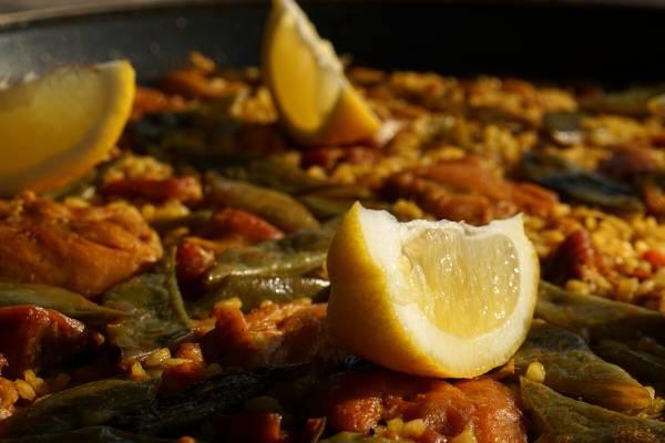 Welke saus bij paella