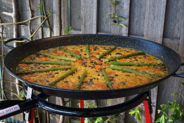 Vegetarische Paella Recept 600x400
