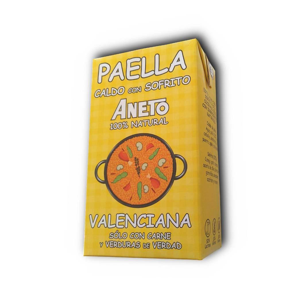 Paella Bouillon voor Paella Valenciana 1