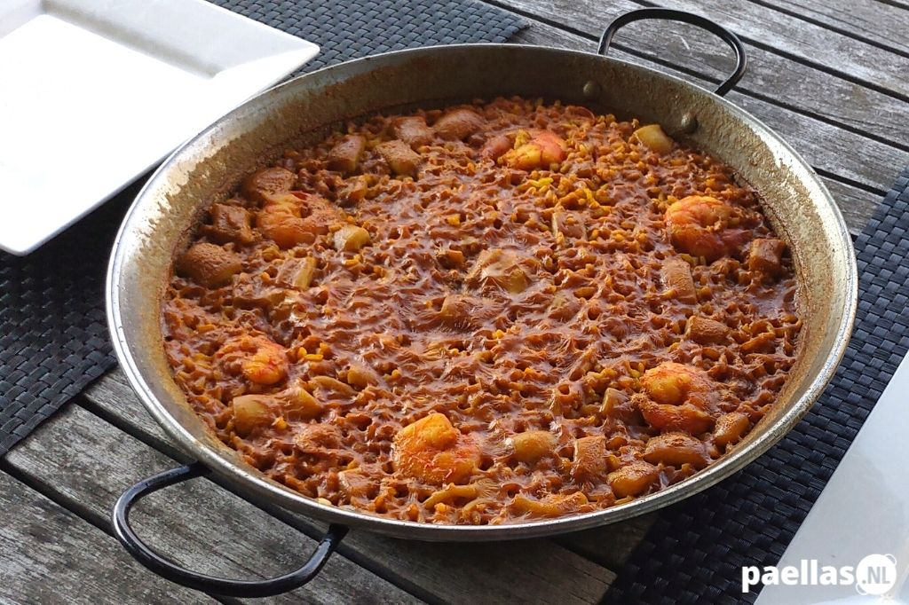 Paella del Senyoret recept - Arroz a Banda recept